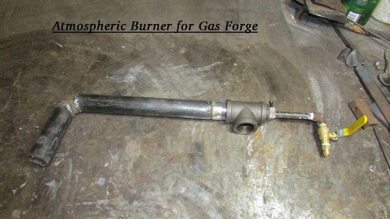 Atmospheric Burner For Gas Forge Blacksmith Tools For