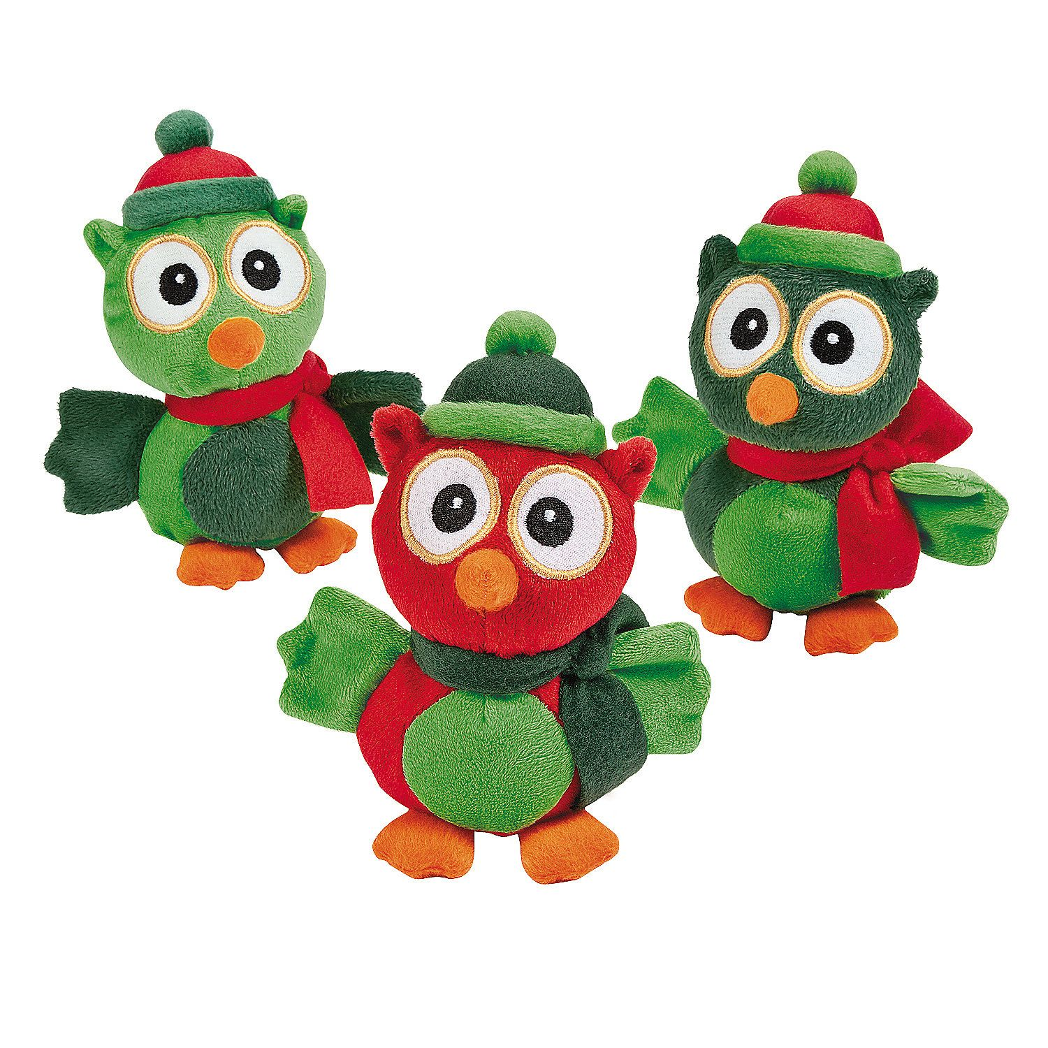 Christmas Stuffed Owls Christmas owls, Owl christmas