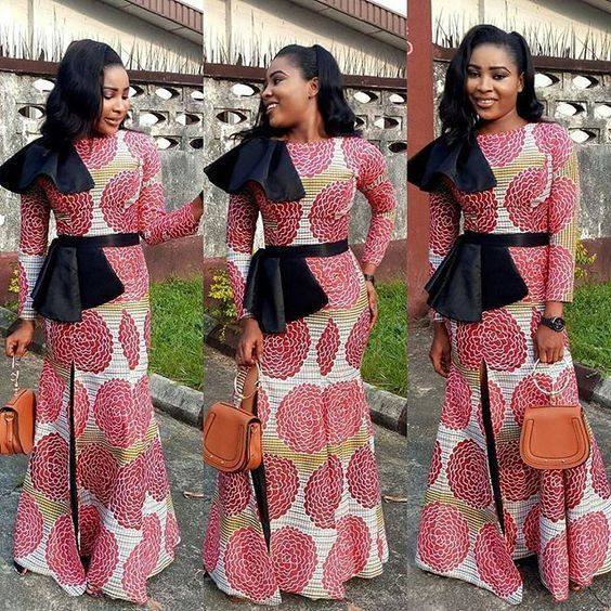 Long Ankara Gowns Styles 2018 Ankara Long Gowns African Fashion