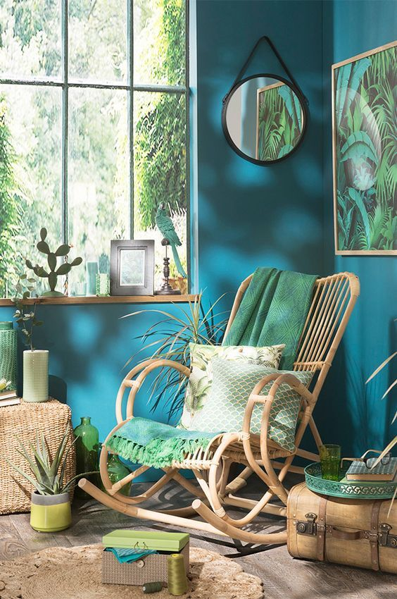 Tropical Style Or Urban Jungle Trend #jungle #style #trend #tropical #urban