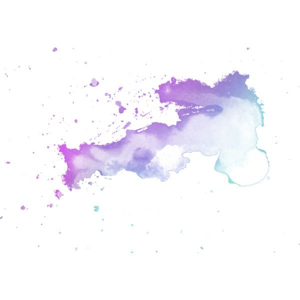 Watercolor Splashes Liked On Polyvore Featuring Splashes