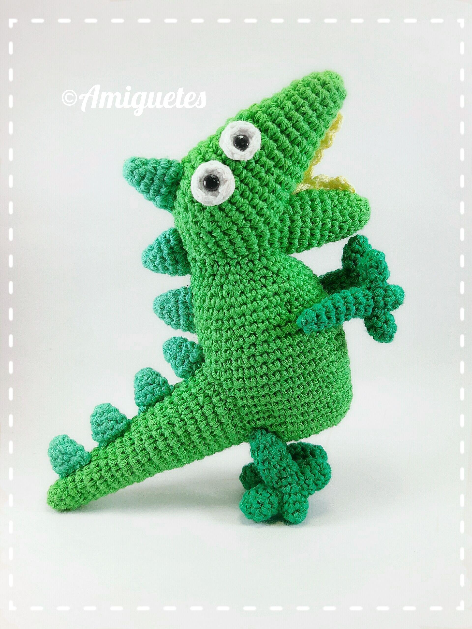 Crochet Amigurumi Dinosaur Free Patterns | Ganchillo amigurumi ... | 2560x1920