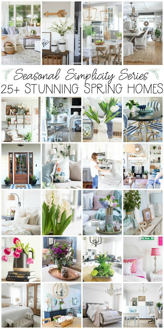 Blush Pink and Blue House Tour | DIY ideas, Diy creative ideas and ...