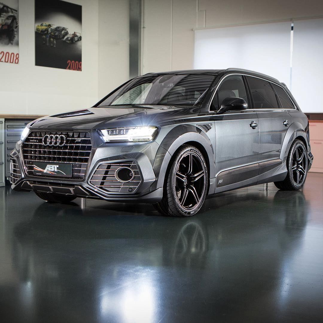 ABT Audi QS7. Find us at the Geneva Motor Show booth 1244. ABT Audi Q7 QS7 bodykit wheels