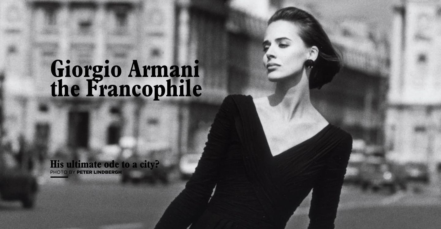 Giorgio Armani the Francophile Best Thing I Never Had