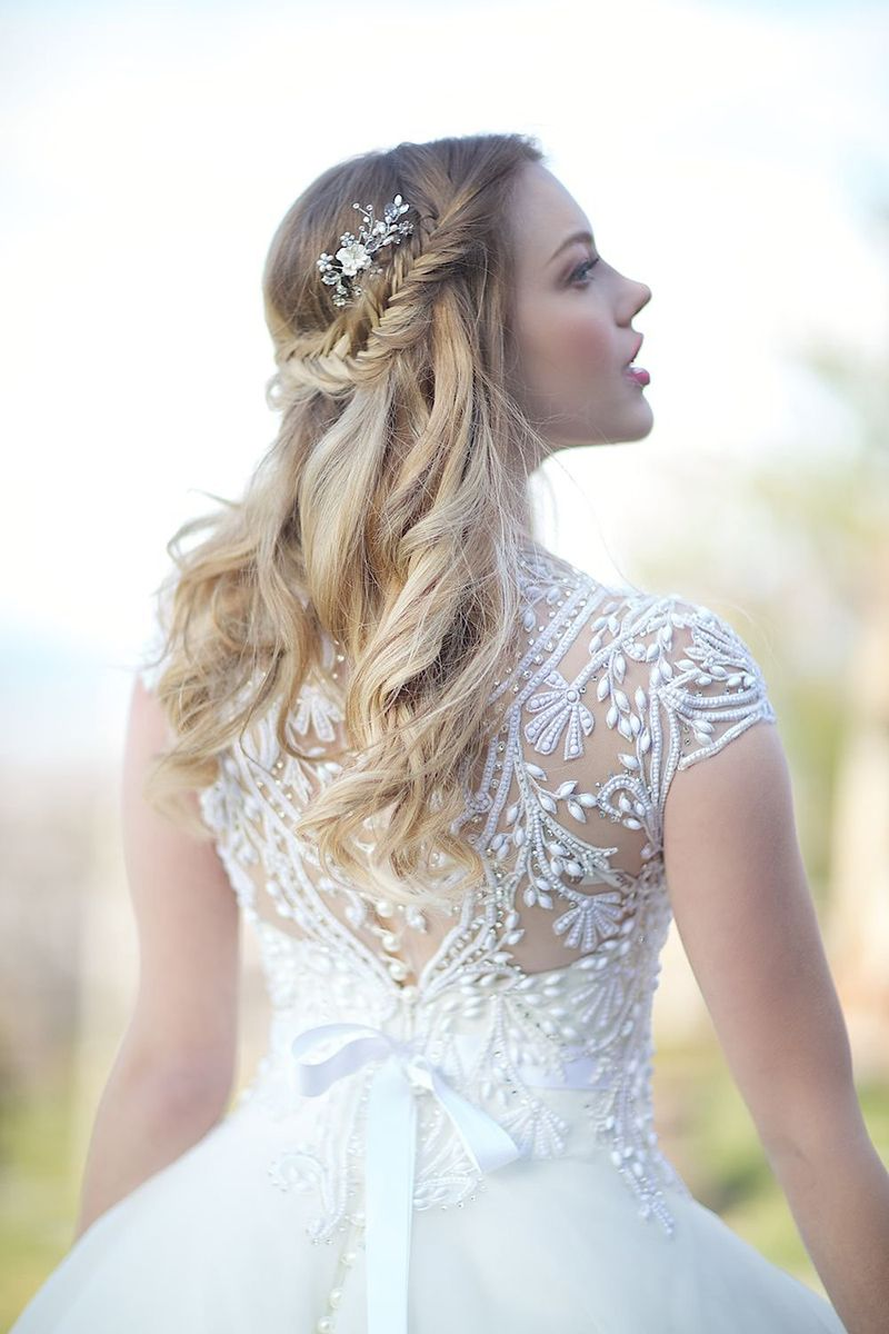 Ever After Bridal Exclusive Wedding Gowns | Bridal hair, Bridal ...