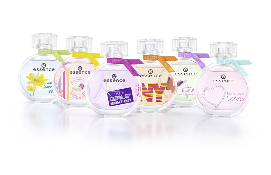essence goes fragrance! blissful moments, secret desires and beautiful memories are captured in six new fragrance worlds. from june 2012, essence will be a permanent fixture on the fragrance shelves for the first time ever! more: http://www.essence.eu