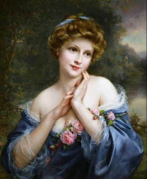 Bevorzugt beauté classique peinture - Google Search   Portraits de femmes  LM15