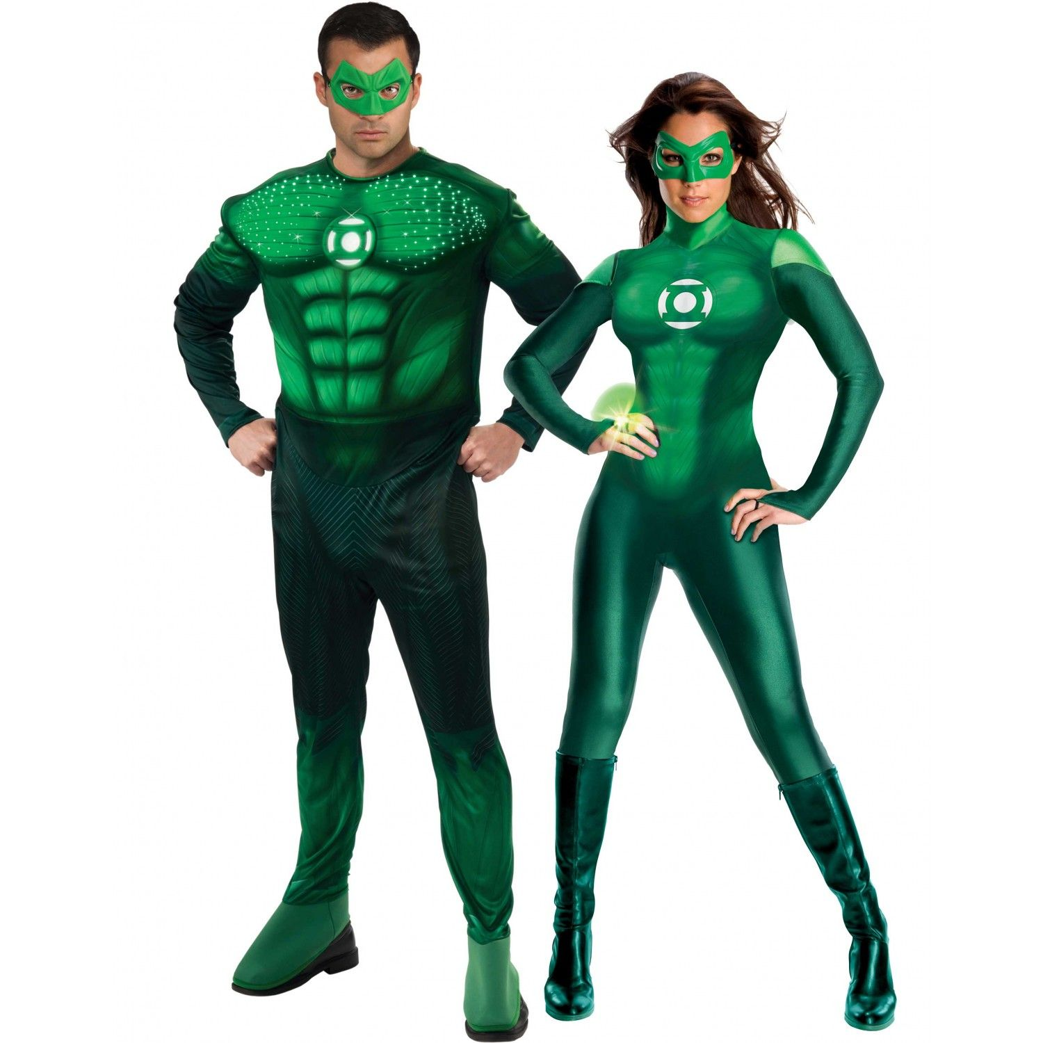 couples costumes | Green Lantern Costume - Adult Costumes For Couples - Couples Costumes Green Lantern Costume - Adult Costumes For