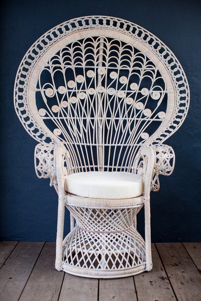 White Peacock Chair Peacock Chair Chair White Peacock