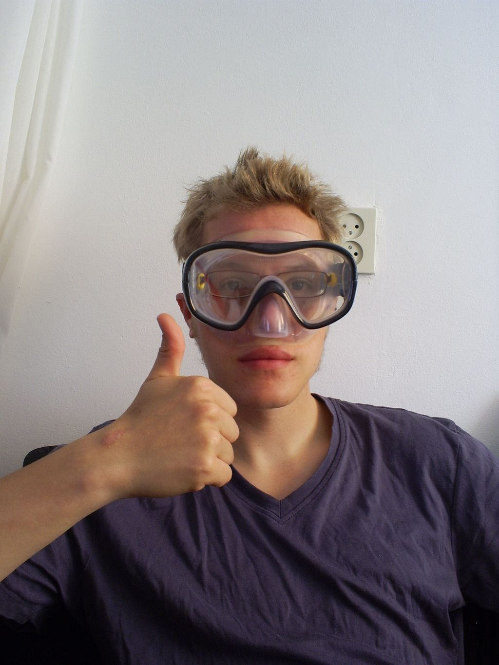 How to make your own prescription snorkeling mask Summer