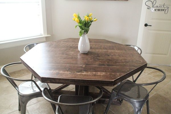 Diy round table Home ideas Pinterest Kitchen redo, DIY