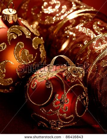 Pin By June Medders On Home For The Holidays Christmas Ornaments Red Christmas Ornaments Gold Christmas