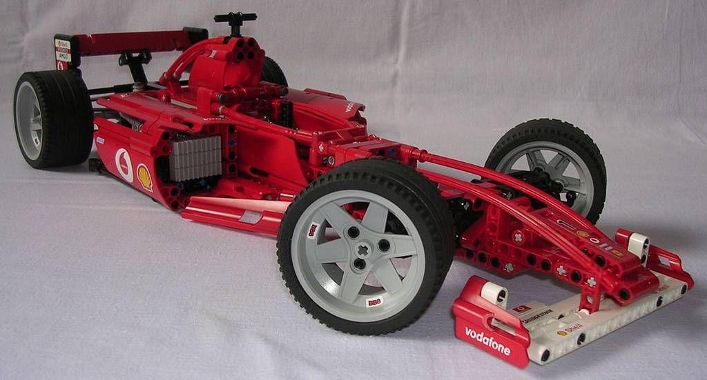 Techlug Fr Review Lego Technic 8386 Formule 1 Ferrari Lego