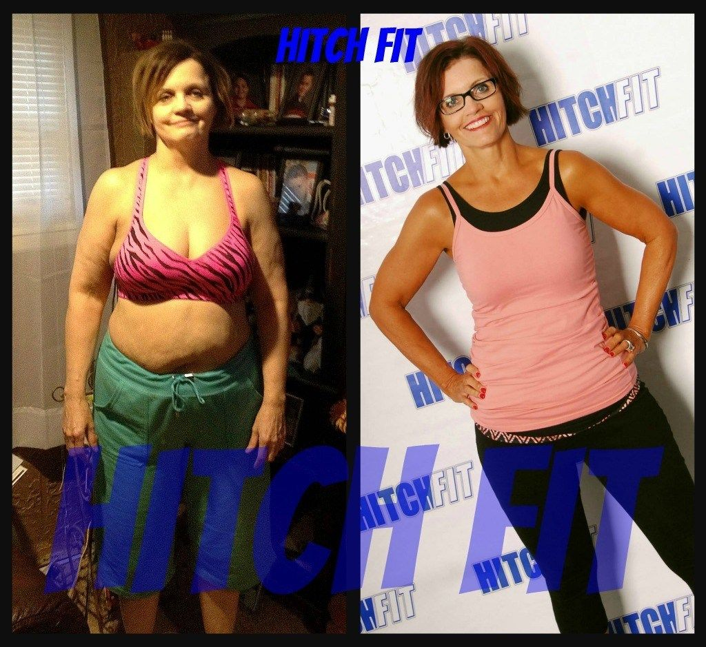 Pin On Fit Over 40 Before And After Photos Hitch Fit