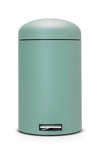 Brabantia 20 Liter Pedaalemmer.Infini Turquoise Brabantia Retro Bin Pedaalemmer Motion Control 20
