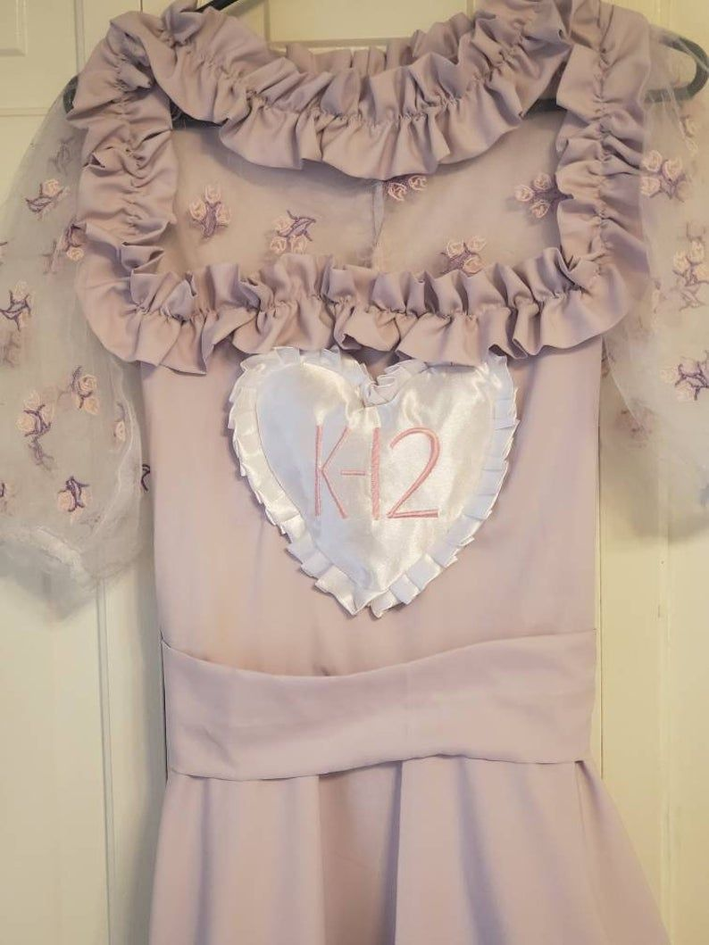 Purple Uniform Dress Melanie Martinez Outfits Etsy Dresses Melanie Martinez Birthday