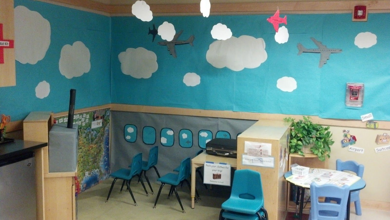Dramatic play ideas: Airplane theme | Preschool Gold (with a few ...