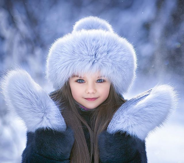 Анастасия Князева в Instagram: «Моя снегурочка ️ ️ ️ Шапка ...