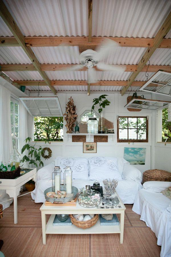 Creative Ways To Use Corrugated Metal In Interior Design Beach