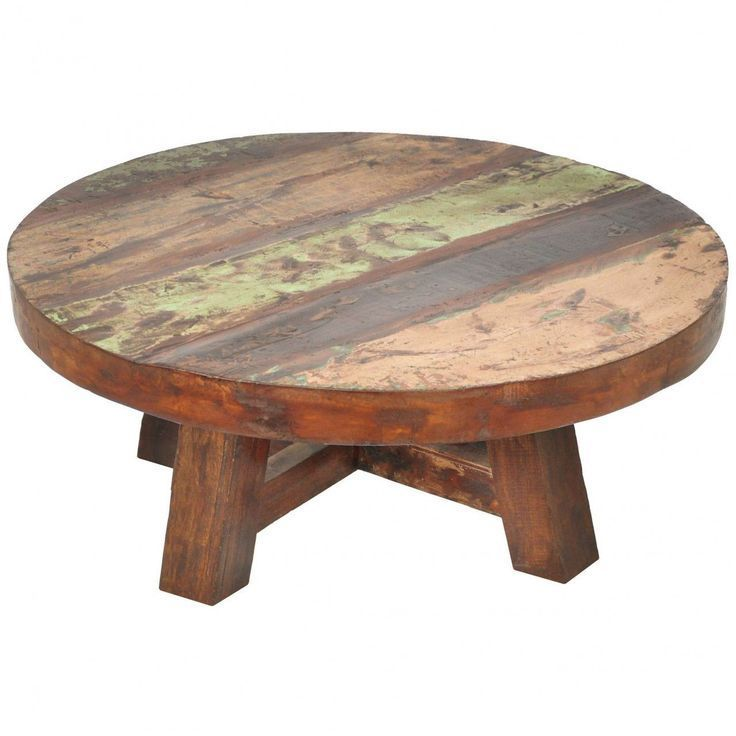 201 Elegant Round Wood Coffee Table  2017   - Woodworking For Beginners -