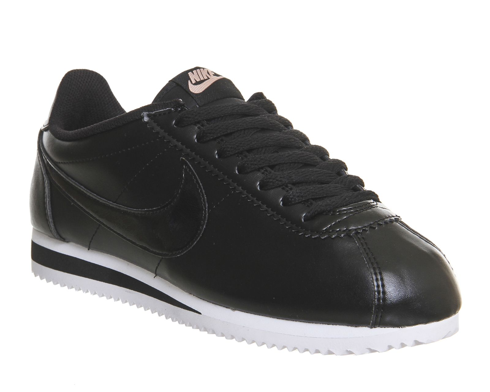 Outlet Trainers Nike Classic Cortez Og Black Leather Unisex Sports