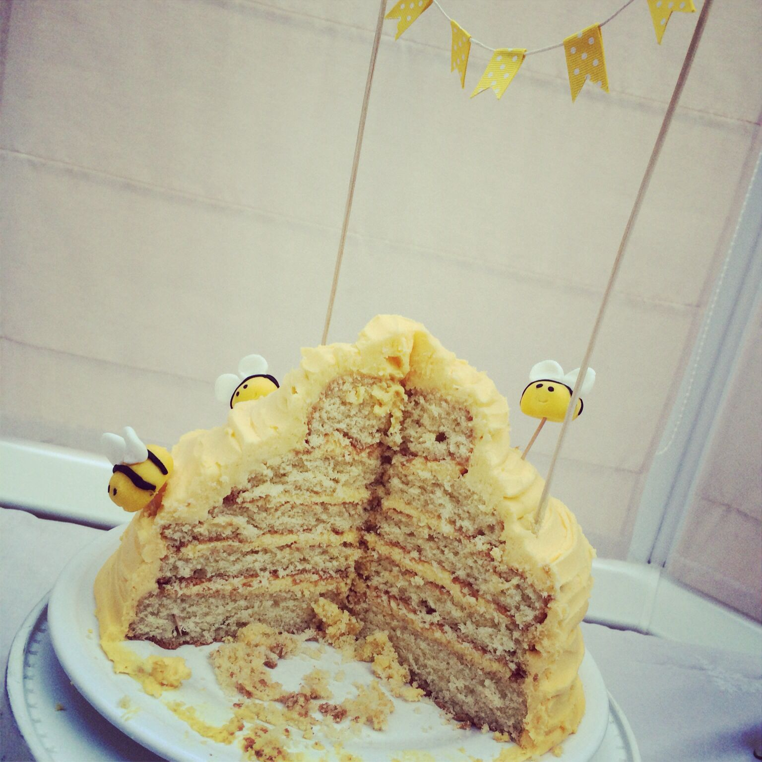Charlie's bumble bee 2nd birthday party