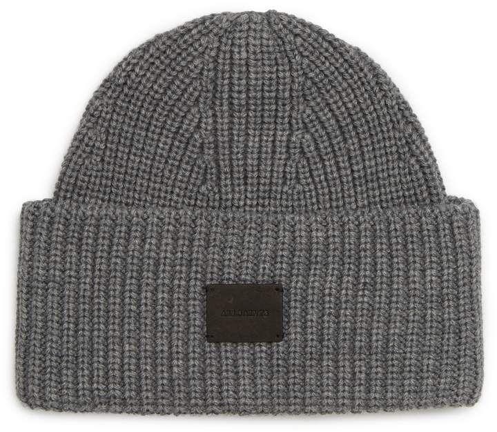 6006c05360f AllSaints Half Cardigan Stitch Beanie