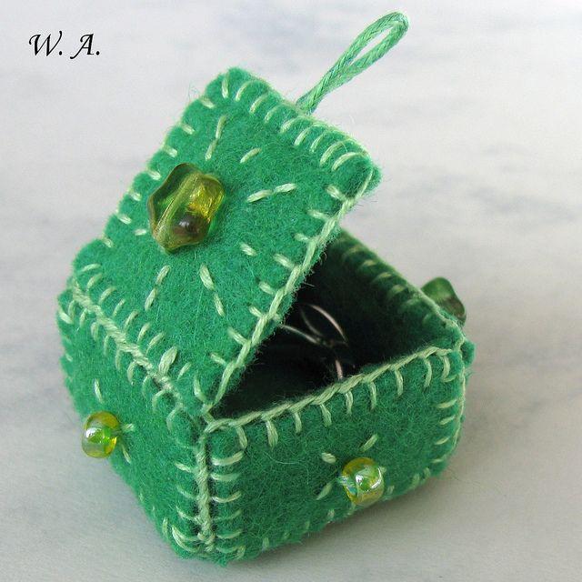 Mini box, Minikrabička na prstýnek   Flickr - Photo Sharing!