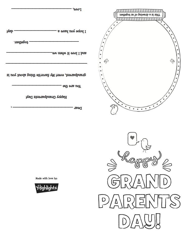View source image Kid Stuff Grandparents day cards