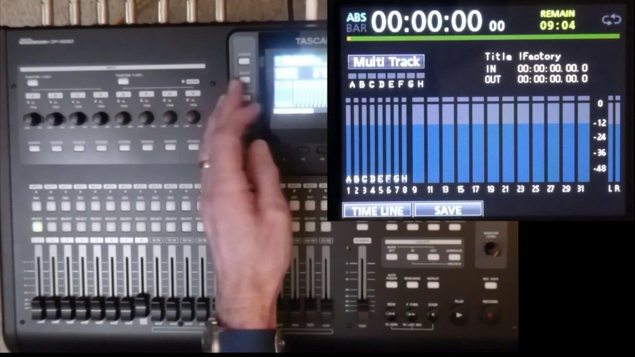 Tascam Dp24 32sd Tutorial 3a Basic 8 Track Mixer Part 3a Configuring A Basic 8 Track Mixer Walk Through From Inputs To Ster Tutorial Basic Audio Sound