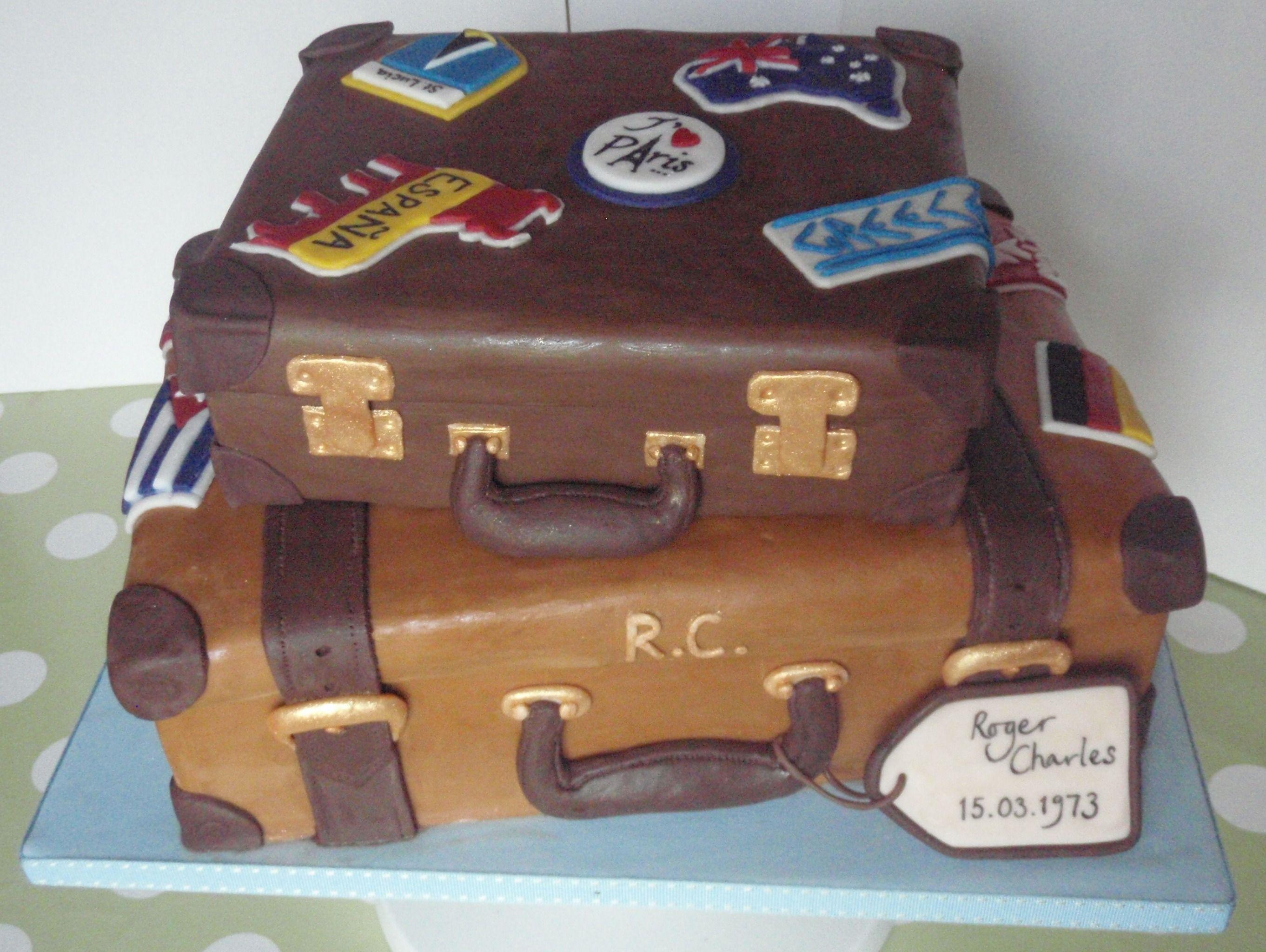 Luggage Novelty Cake By Cakeycake Let Them Eat Fancy Cake