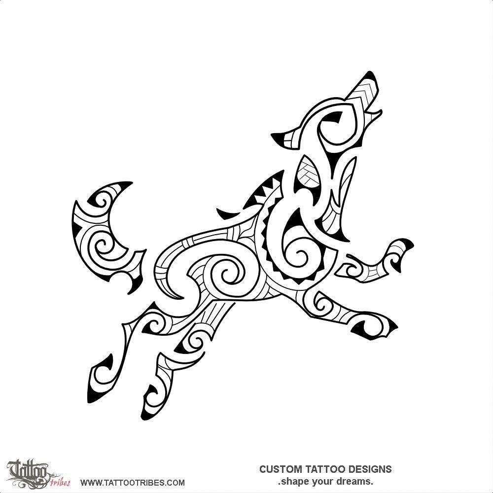 Tattoo Of Running Wolf Kirituhi Tattoo Custom Tattoo Designs On