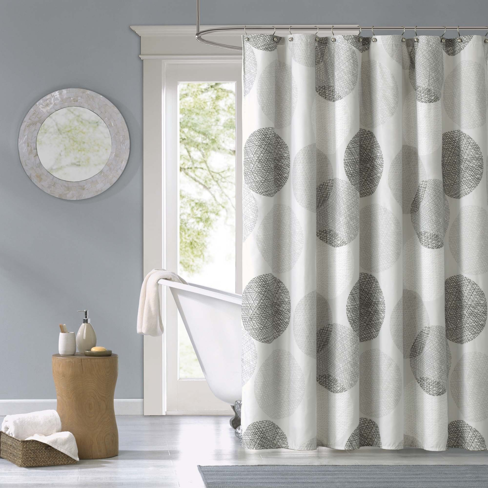 Captivating Grey And Tan Shower Curtain Ideas - Best inspiration ...