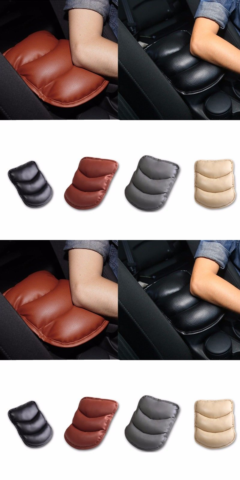 yeti chair accessories tufted dining 1pc car armrests cover pad console arm rest for skoda octavia a2 a5 a7 fabia rapid superb roomster