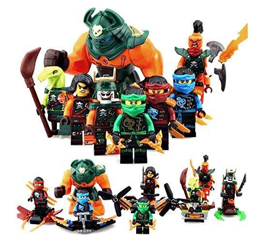 8 top ninjago figuren dogshank nadakhan douploon cyren jay for Kinderzimmer ninjago