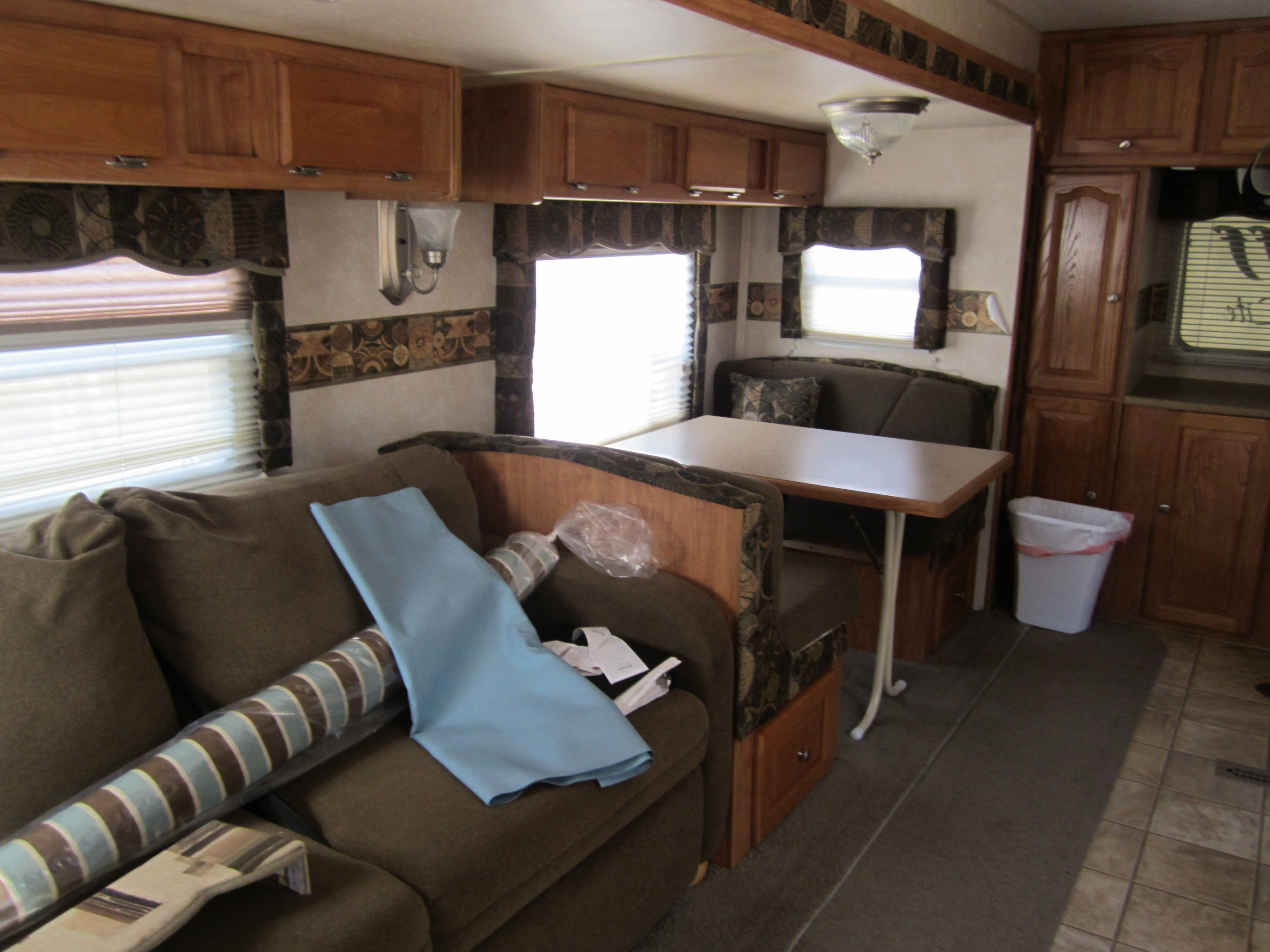 Travel trailer redo! (With images) Rv living, Rv remodel