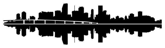 Pin By Marina On Crafts City Skyline Silhouette Skyline Silhouette Miami City