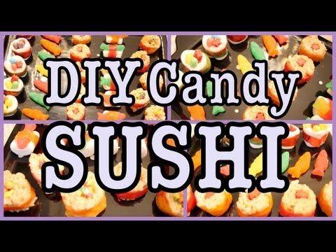 ▶ DIY: Candy SUSHI! - YouTube #dessertsushi