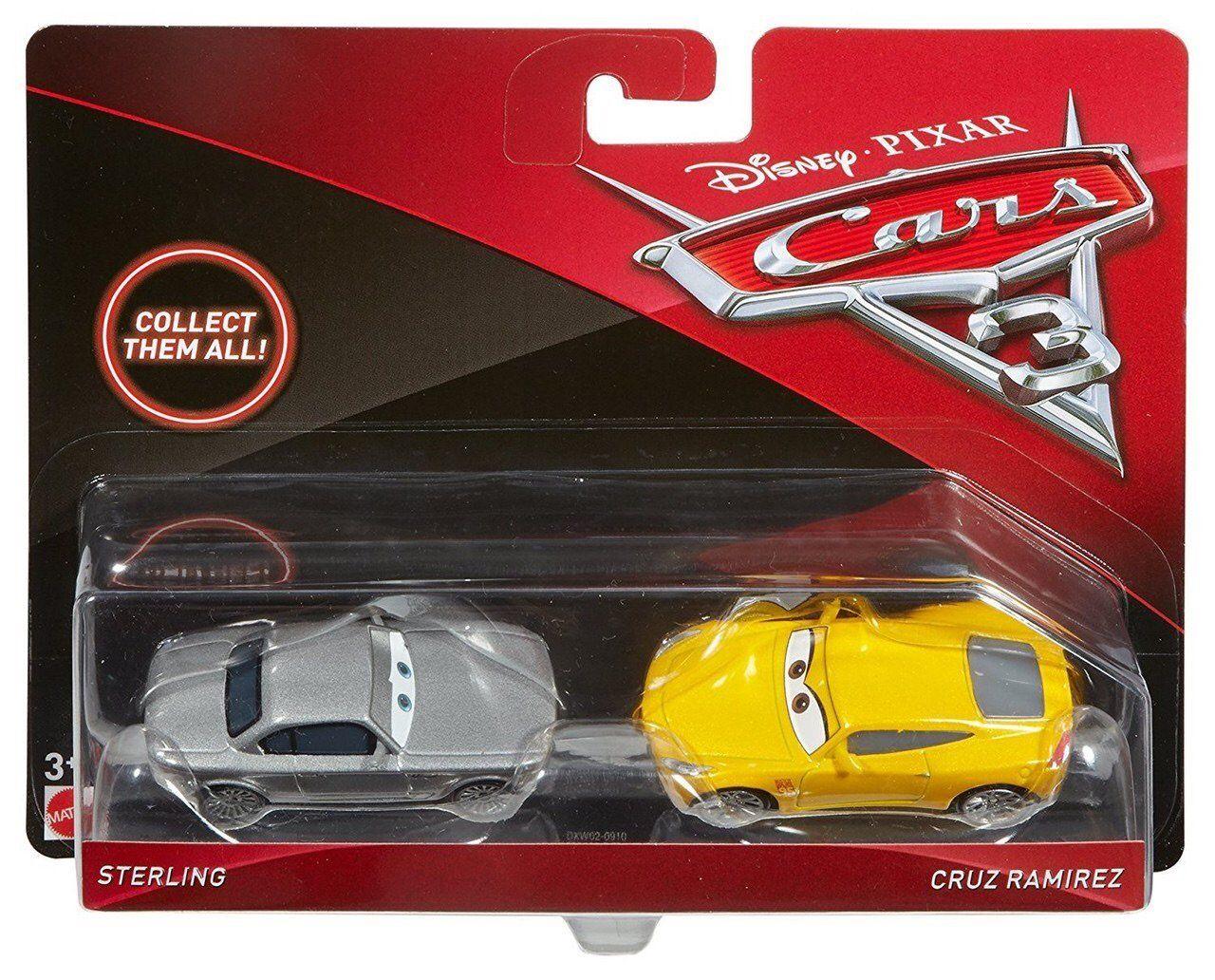 Sterling & Cruz Ramirez (Cars 3, Mattel) Cruz ramirez
