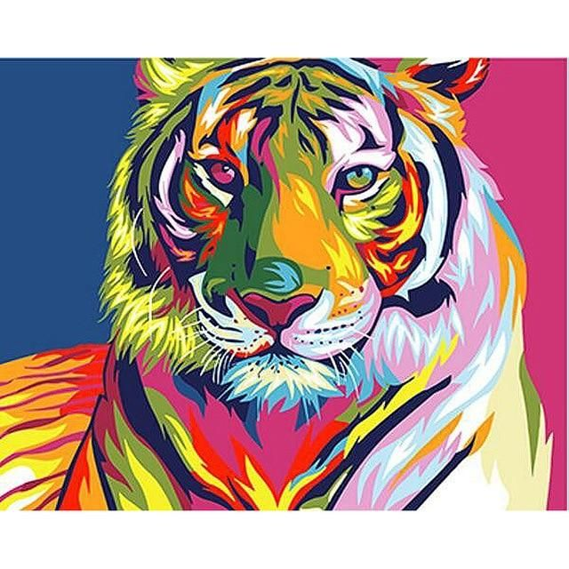 Photo of Fun and Easy Paint By Numbers Animals – 99154 / 50x65cm no frame