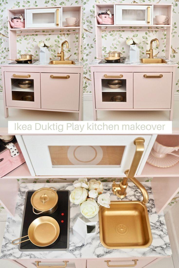 Ikea Duktig spielen Küchenverjüngungskur #spraypainting