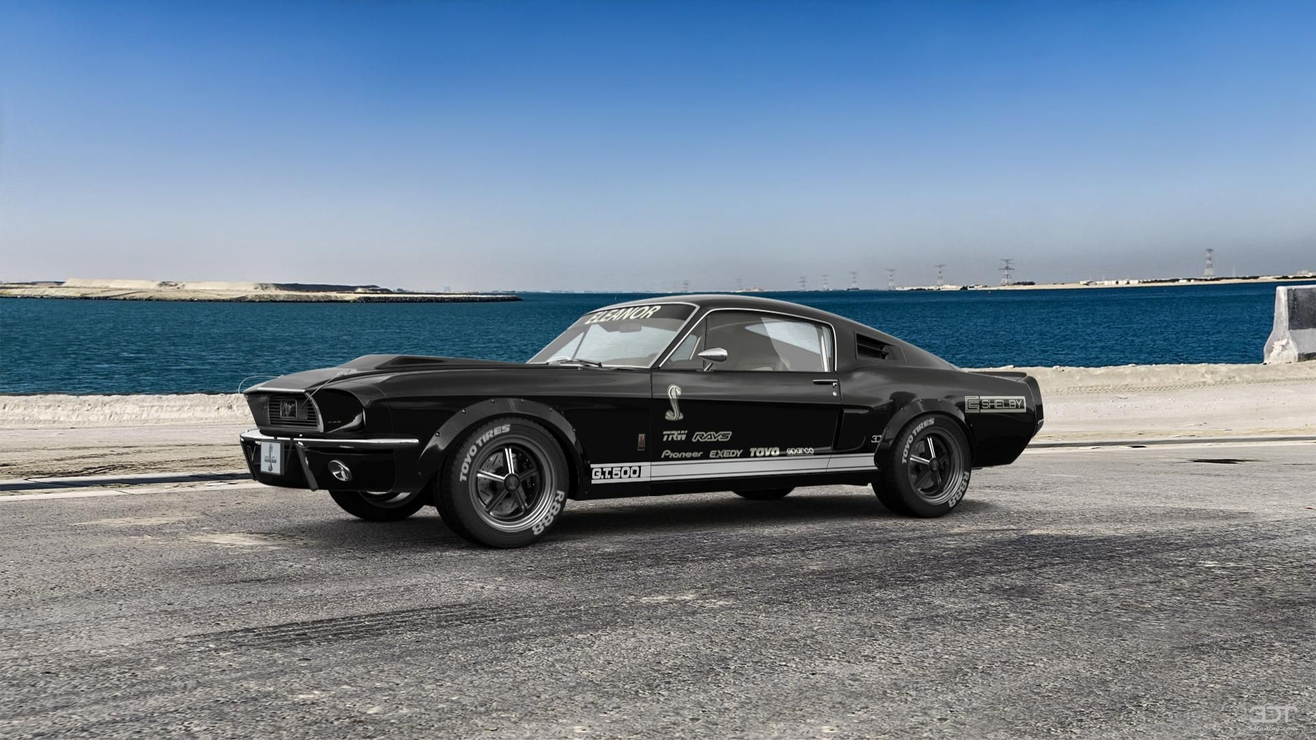 Ford mustang shelby gt500 eleanor 1968