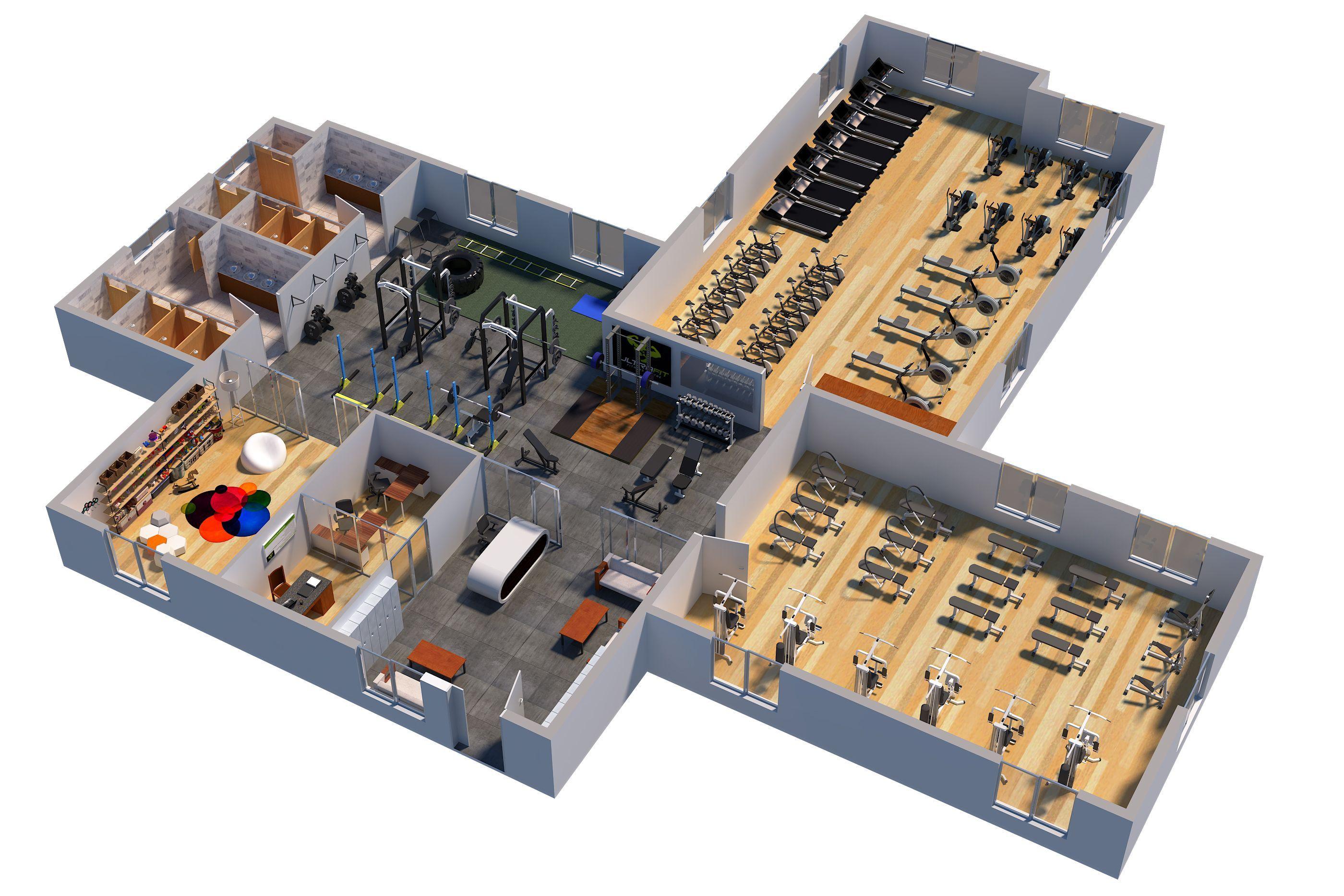 Fitness Gym Plan Architecture Plan Gym Architecture Gym Plan Gym Architecture Gym Design Interior