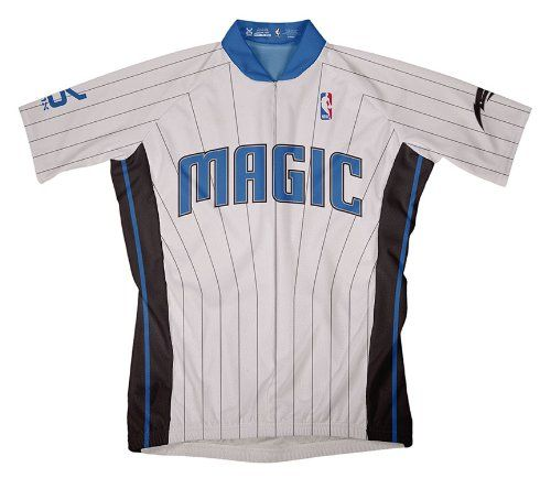 NBA Orlando Magic Mens Short Sleeve Cycling Jersey Large *** More info could be found at the image url.Note:It is affiliate link to Amazon.
