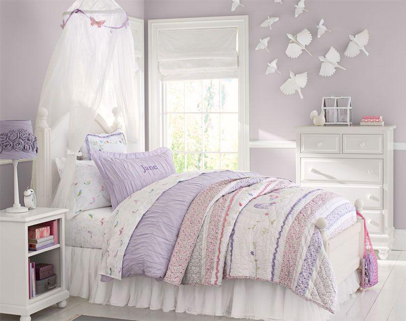Pottery Barn Kids Kate S Room Makeover Paint Color Inspiration But With Original