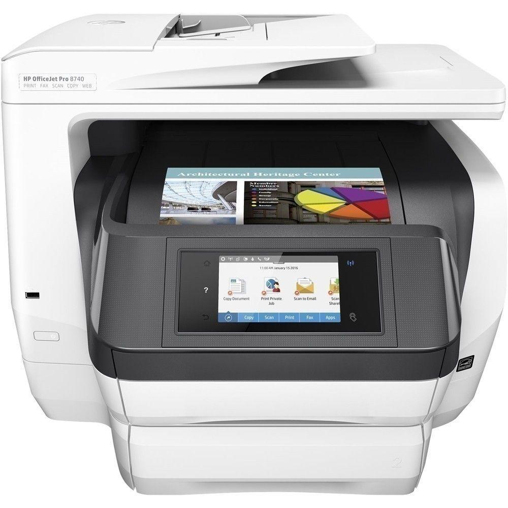 HP OfficeJet Pro 8740 Wireless AllInOne Instant Ink