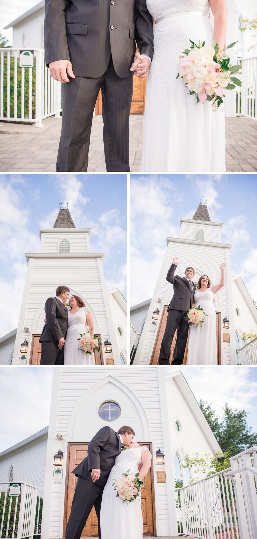 Second Wedding Mature Bride Small Ceremony Little White Church Blacksheepchic