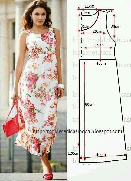 Pin von AnikaP auf sukienki | Pinterest | Nähanleitung und Nähen
