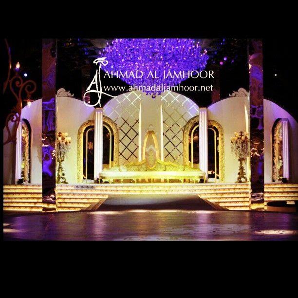 Qatar Wedding Wedding Decoration Stage Inspiration